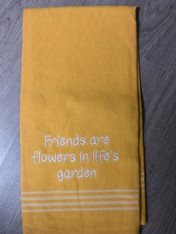 Friends Garden Dish Towel