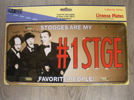 Three Stooges License Plate ~ Novelty