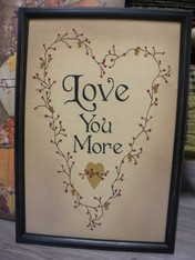 Love You More ~ Sign
