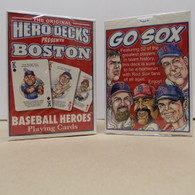 Red Sox playing cards