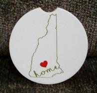 Car Coaster - New Hampshire