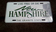 NH License Plate ~ Novelty