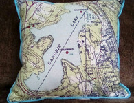 "16"" Pillow ~  Canobie Lake"