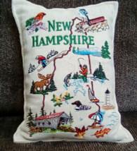New Hampshire Pillow filled with fresh Balsam Fir