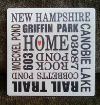 Windham Home tile coaster