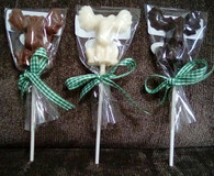 Dark Chocolate Moose Pop