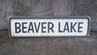 Beaver Lake sign