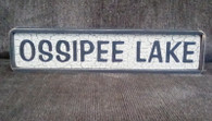 OSSIPEE LAKE sign