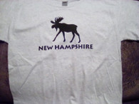 Youth (14-16) Large NH Moose t-shirt