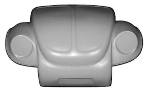 K114 1973-1979 VW Super Beetle Off Road Broad Eye Style One Piece Front End NO Cutting of Vehicle Metal Required