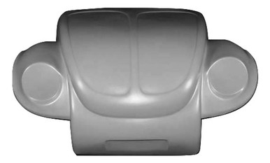 K115-1971-1972 VW Super Beetle Off Road Broad Eye One Piece Front End NO Cutting of Vehicle Metal Required