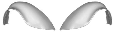 """F100F 1949-1977 VW Beetle and 1971-1979 VW Super Beetle FLARED 3"""" Wider Than Stock Rear Fenders, Smooth No Indention For Tail Lights-PAIR"""