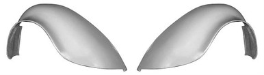 """F200F  1949-1977 VW Beetle and 1971-1979 VW Super Beetle FLARED 1 1/2"""" Wider Than Stock Rear Fenders, Smooth No Indentions For Tail Lights-PAIR"""