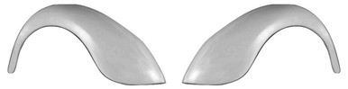 F200S 1949-1977 VW Beetle and 1971-1979 VW Super Beetle Stock Rear Fenders, Smooth No Indentions For Tail Lights-PAIR