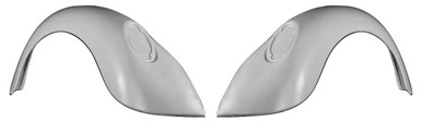 F300S 1949-1977 VW Beetle and 1971-1979 VW Super Beetle Stock Rear Fenders, Indentions are for 1973-1979 Tail Lights-PAIR
