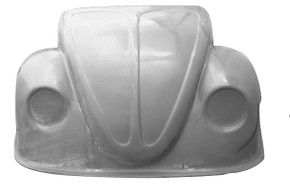 K118 1949-1977 VW Beetle Pro Stock Front End- Will NOT Fit Super Beetles