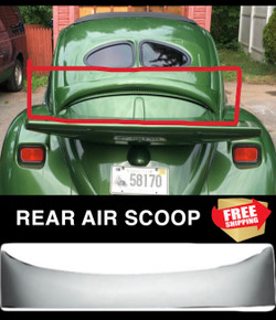 REAR AIR SCOOP 49-77 Beetle / 71-79 Super Beetle