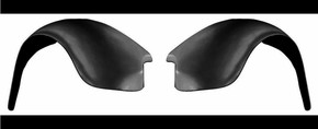 K101/102-RR/LR 1949-1977 VW Beetle Heavy Duty Rear Fenders PAIR