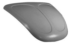 K200-H 1949-1977 VW Beetle Heavy Duty Deluxe Extra Thick Baja Broad Eye Hood Will Not Fit Super Beetle