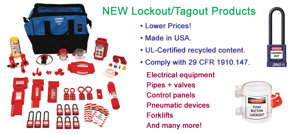 Lockout/Tagout products