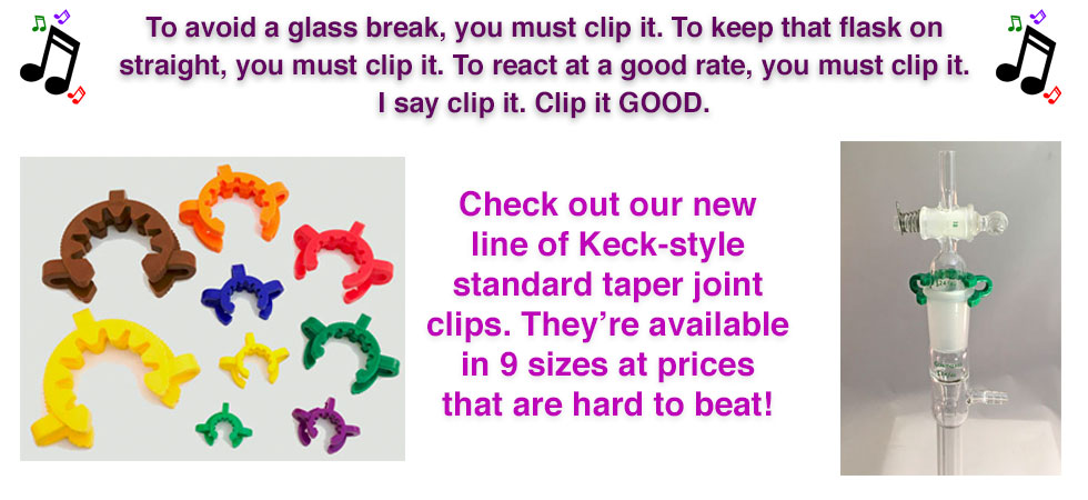 Keck clips now availble