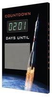electronic countdown scoreboard