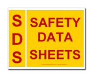SDS Binder Spine And Cover Label Set