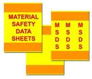 3 Piece MSDS Binder Cover Kit
