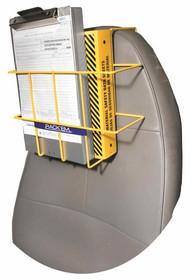 Over The Seat 3-Ring Binder Storage Rack