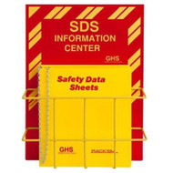 SDS Information Centers, English and Trilingual w/ Optional Binders