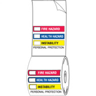 Illustration of the Right To Know Labels, Paper, 250/Roll