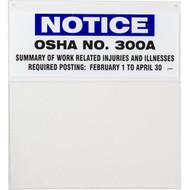 OSHA 300A Information Board