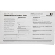 OSHA 301 Record Keeping Forms, 25/pkg