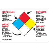 NFPA Labels, Annotated, 25/Pkg