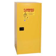 Eagle Flammable Liquid Safety Cabinets, Single Door, 60 gallon
