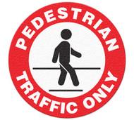 Anti-Slip Safety Floor Markers, Pedestrian Traffic Only/Pedestrian Route