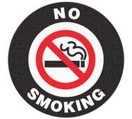 Anti-Slip Safety Floor Markers, No Smoking w/Graphic