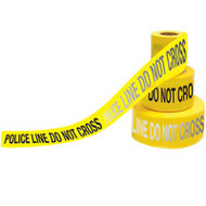 Day/Night Barricade Tape, POLICE LINE DO NOT CROSS