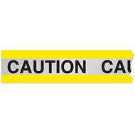 Reflective Barricade Tape, CAUTION