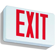 Picture of the Lithonia LED Red Exit Sign w/ Battery Backup.
