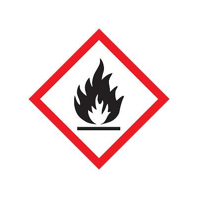 Ghs Flame Pictogram Labels