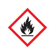 GHS Flame Pictogram Labels