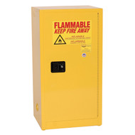 Eagle Space Saver Flammable Liquid Safety Cabinets, 16 gallon