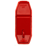 Zing Touch Wall Light Switch Lockout Device, Red