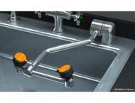 Guardian GBF1849 Barrier-Free Eyewash, Deck Mounted, AutoFlow™ 90º Swing-Down