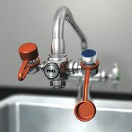 Photograph of a Guardian G1100 EyeSafe Faucet-Mounted Eyewash.
