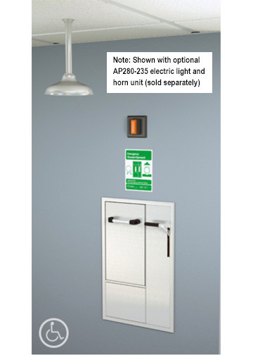 guardian gbf2150 and gbf2x52 series recessed safety station with rh safetyemporium com