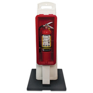 Portable Fire Extinguisher Stands with Cabinets for 10 lb and 20 lb Extinguishers