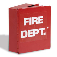 Metal Fire Department Lock Box