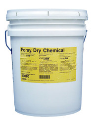 A 45 lb pail of Ansul Foray Class ABC Extinguisher Powder.